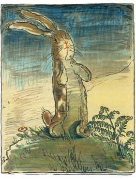 William Nicholson - Spring Time-`The Velveteen Rabbit'