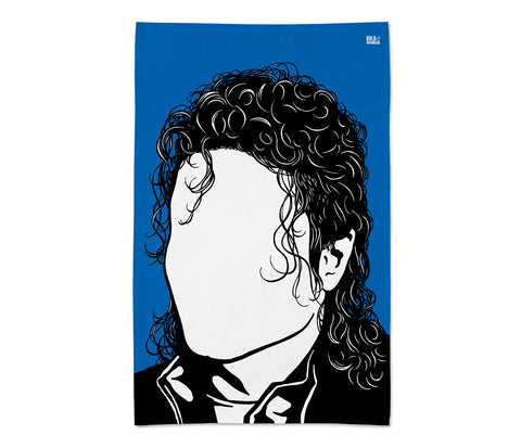 Michael Jackson Tea Towel - LEOFRAMES