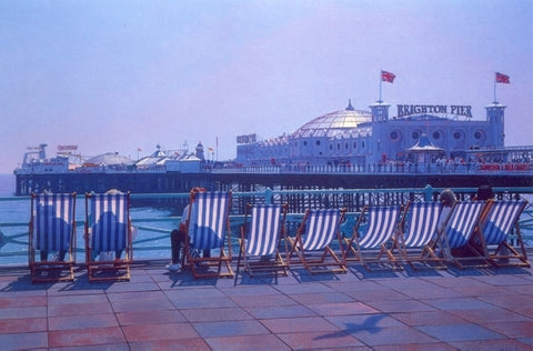 philip Dunn,brighton,deck chair, pier