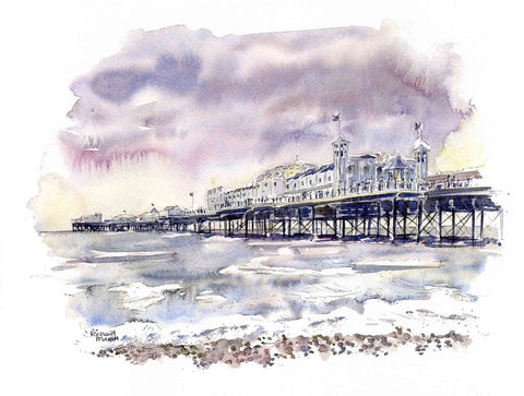 Palace Pier, Brighton By Richard Marsh