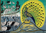 Edward Bawden - Peacock and Magpie - LEOFRAMES