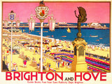 Brighton & Hove(Pink) Publicity Poster - LEOFRAMES