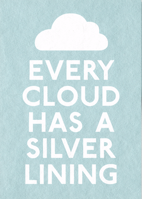 Every Cloud - Small Framed Image
