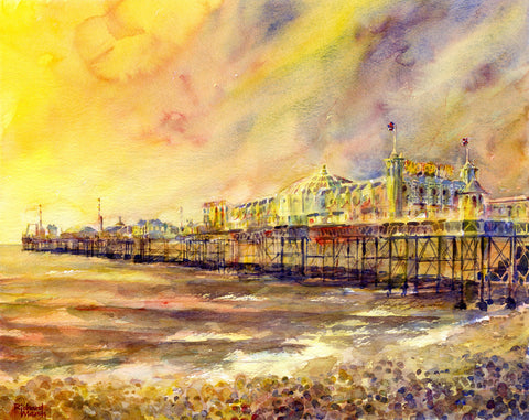 Palace Pier (004) By Richard Marsh