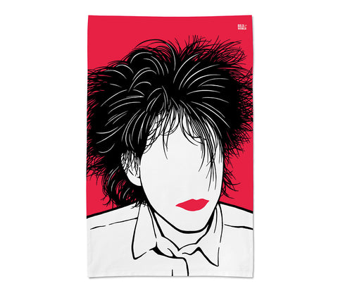 Robert Smith Tea Towel - LEOFRAMES