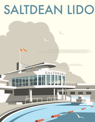 Saltdean Lido, Brighton By Dave Thompson