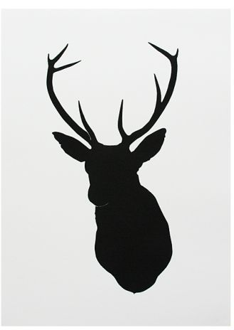 Oh Deer - Black