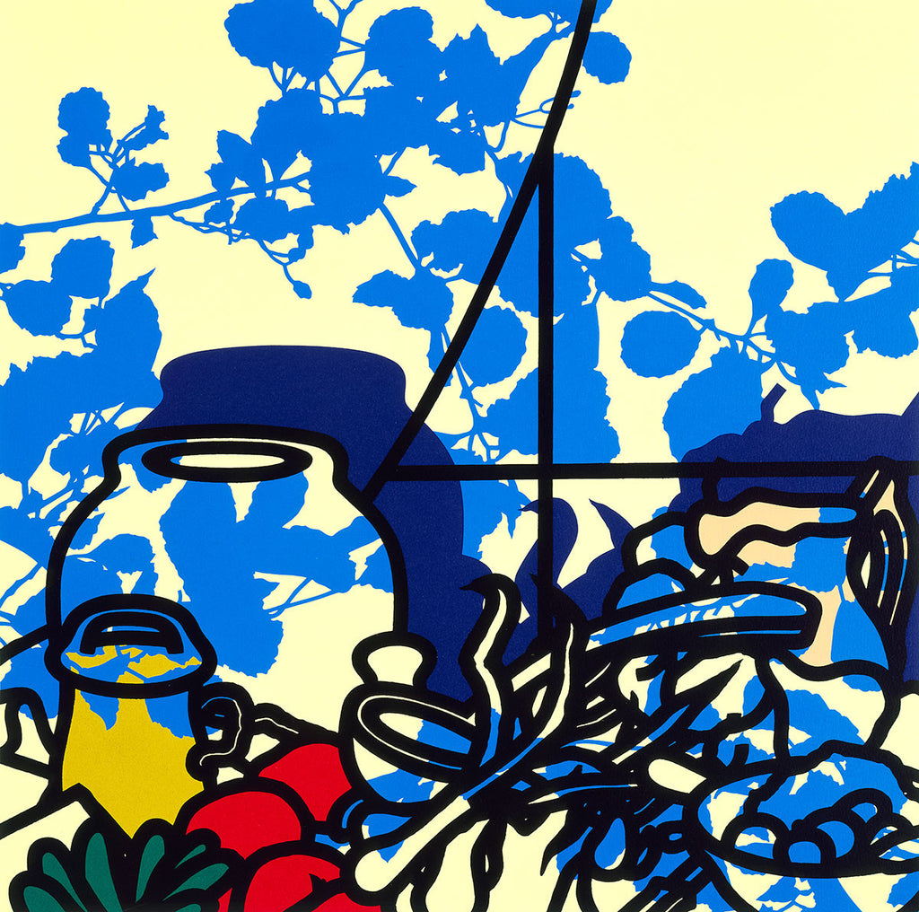 Still Life Ingredients By Patrick Caulfield