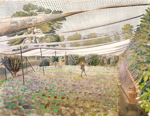 Eric Ravilious - Strawberry Nets - LEOFRAMES