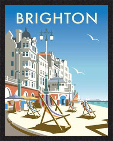 Brighton Beach By Dave Thompson