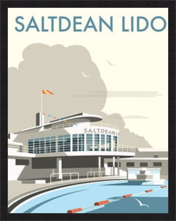 Saltdean Lido, Brighton By Dave Thompson - LEOFRAMES