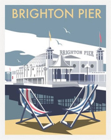 Brighton Pier By Dave Thompson - LEOFRAMES
