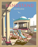 Eastbourne Bandstand, East Sussex. By Illustrator Dave Thompson - LEOFRAMES
