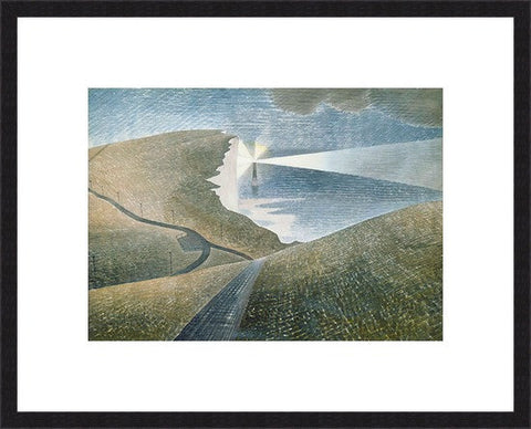 Eric Ravilious - Beachy head, Sussex