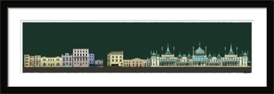 'His and Hers' George IV's Brighton Pavilion and Fitzherbert's Steine House By Alej ez