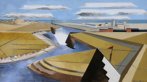 Rye Marshes By Paul Nash - LEOFRAMES