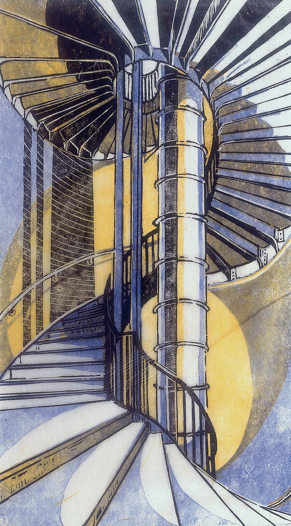 Cyril Power - The Tube Staircase - LEOFRAMES