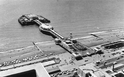Aerial Photograph of the West Pier, Brighton - LEOFRAMES