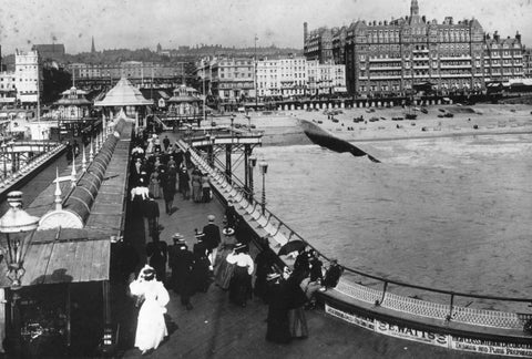 View from End of West Pier, Brighton