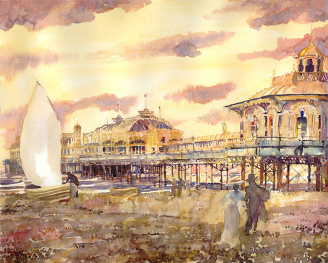 An Edwardian Evening, West Pier (020) By Richard Marsh - LEOFRAMES