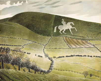 Chalk Figure Near Weymouth By Eric Ravilious - LEOFRAMES