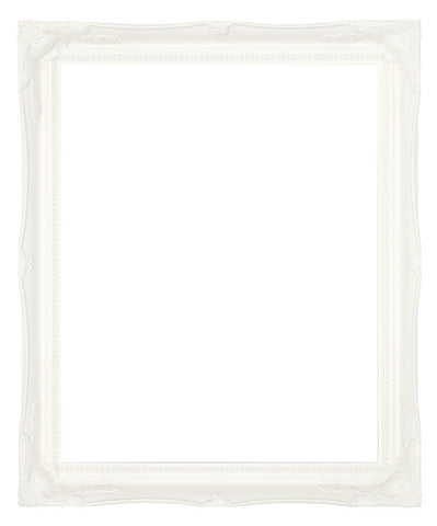 "White 2"" Swept Frame"