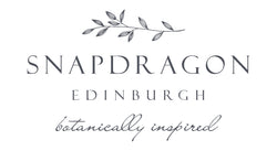 Snapdragon Edinburgh botanically inspired logo