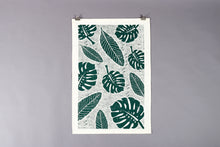 Load image into Gallery viewer, Studio Wald Leaf Pattern Tea Towel