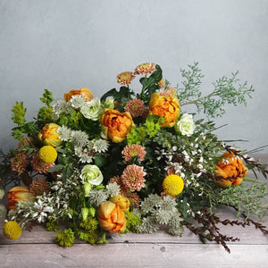 Regular Monthly Delivery - Seasonal Flowers Bouquet