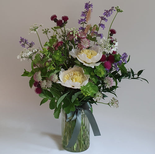 Garden Posy Vase (locally grown flowers)
