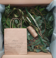 Load image into Gallery viewer, SOLD OUT Make at Home 'Foliage & Fruits' Festive Wreath Kit