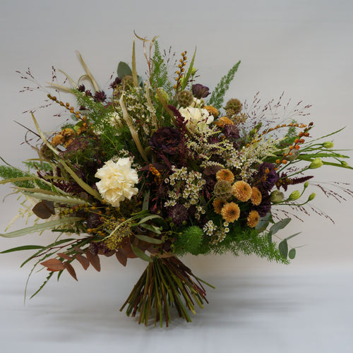 Russet bouquet Snapdragon - browns,orange and cream