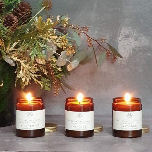 Botanical Candle Co Winter Light Festive Jar Candle