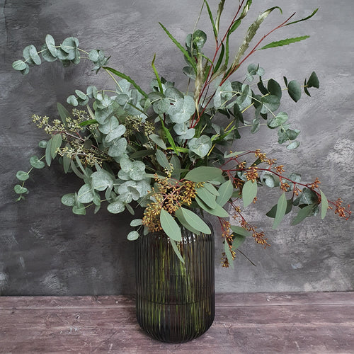 Seasonal Winter Eucalyptus Wrap