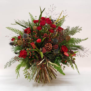 SOLD OUT Festive Reds Bouquet