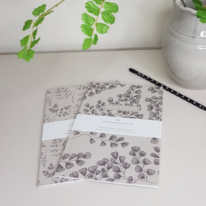 Gooseberry Moon Botanical Notebooks