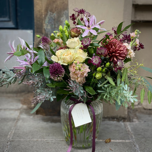 Florist's Choice Seasonal Posy Vase