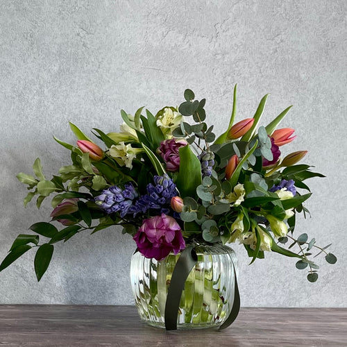 Fragrant Spring Posy Jar