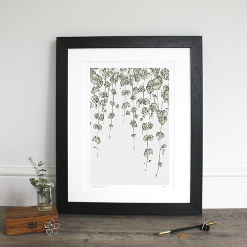 String of Hearts fine art giclée print
