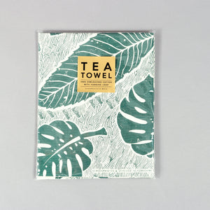 Studio Wald Leaf Pattern Tea Towel