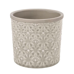 Burgon & Ball Porto Plant Pot - Soft grey