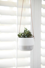 Load image into Gallery viewer, Burgon & Ball 'Ripple' Hanging Plant Pot