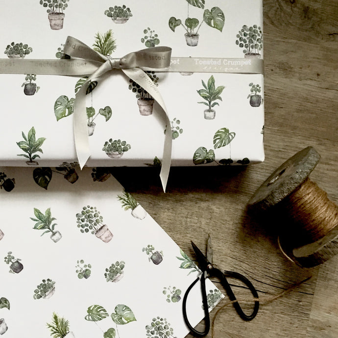 Greenery Gift Wrap set
