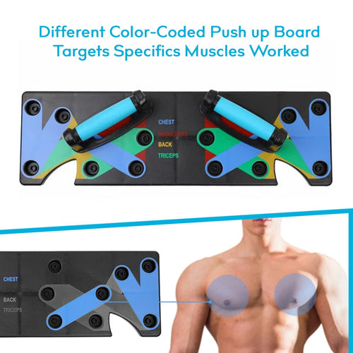 Herculean™ 9-in-1 At Home Push Up System