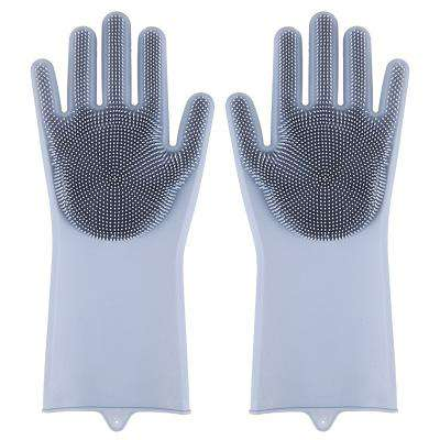 EasyScrub™ Silicone Washing Gloves