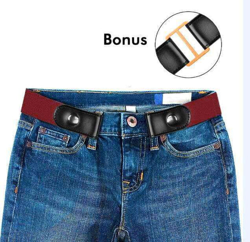 BuckleFree™ Stretchable Elastic Belt for Jeans, Pants, Dresses