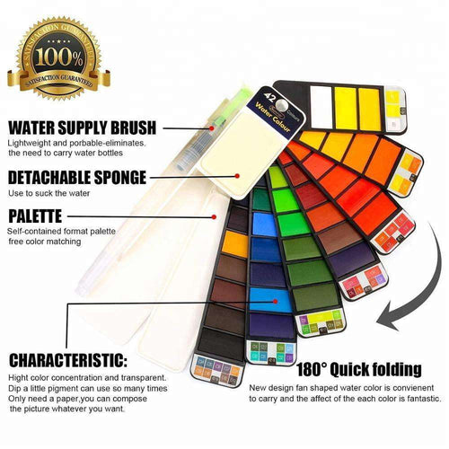 ArtToGo™ Foldable Water Color Paint Set