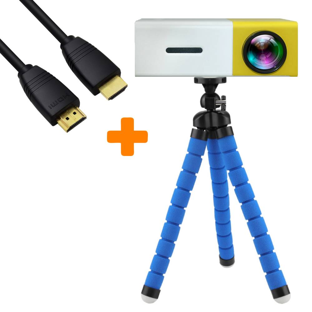 Luminosity™ Tripod + 4K HDMI Cable Bundle