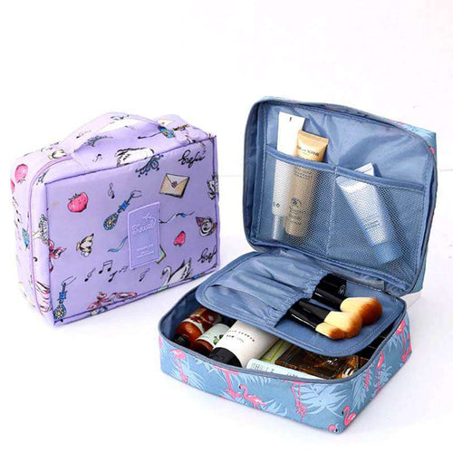 TravelChique™ Multi-Purpose Travel Cosmetics Organizer