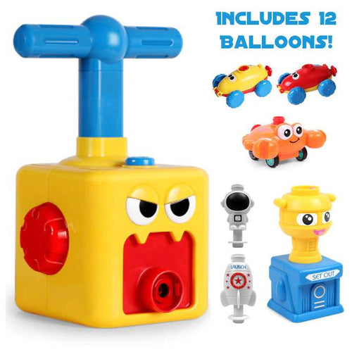 Mr. Cubello™ Balloon Car Launcher STEM Learning Toy